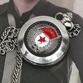 Russia Army Pocket Watch Mens Auto Mechanical Collect