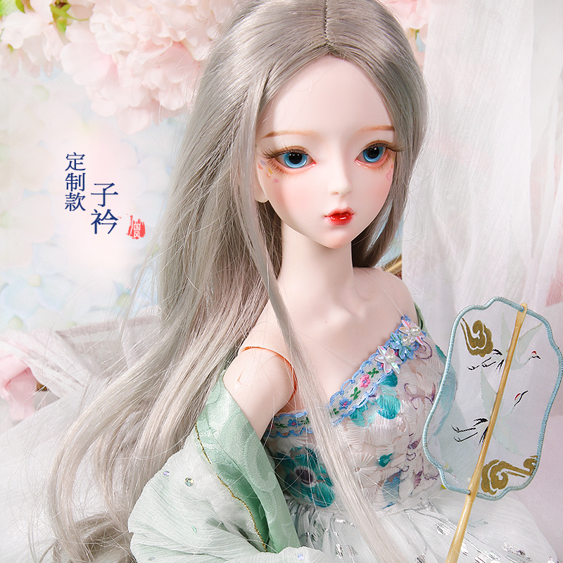 1 3 BJD Blyth Doll Joint Body 60CM upgraded version can open the brain custom wig