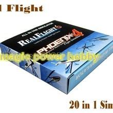 Акция Цена 20 в 1 феникс USB полета RC симулятор кабель для Realflight Bettery качество G6.5 G6 G5.5 G5 G4