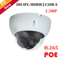HD 1.3 Megapixel Infrared Dome Network Camera IPC HDBW2130R S H.265 IR 30m Night vision IP Camera POE Camera Outdoor IP