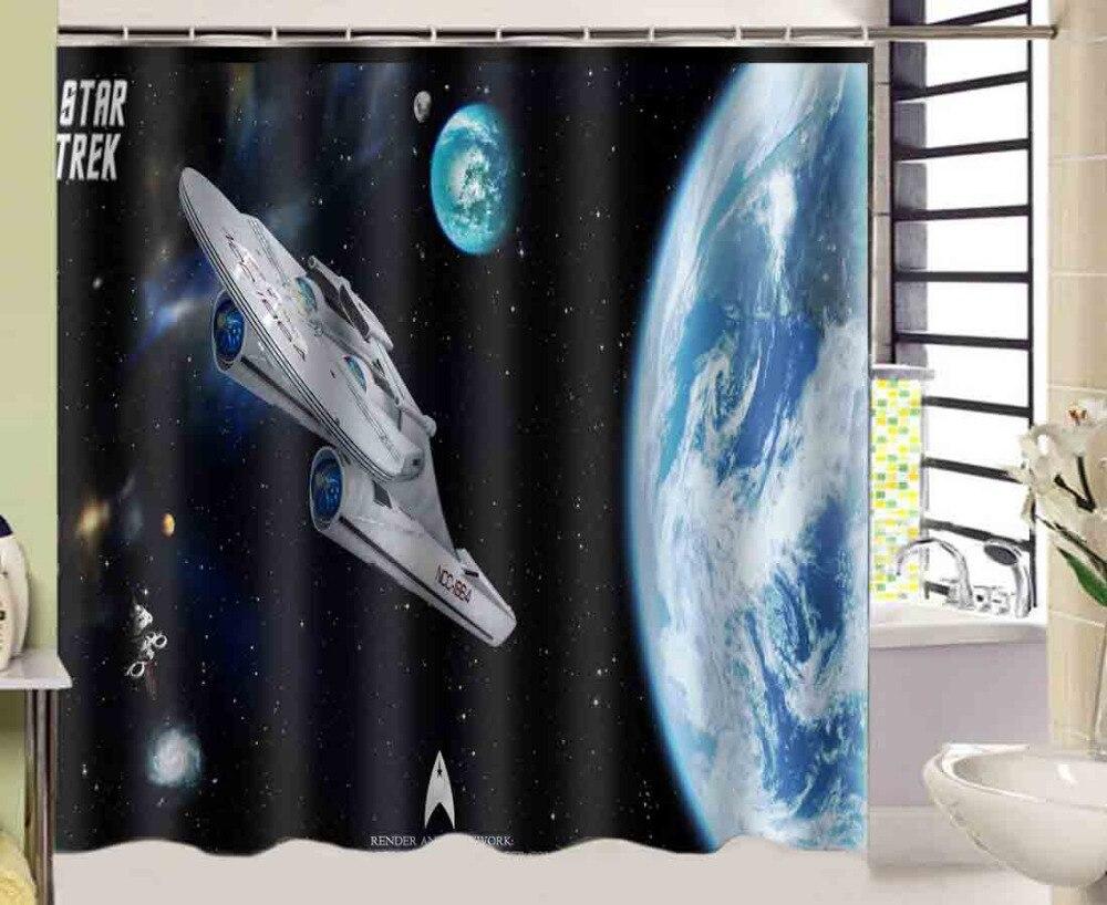 Star Trek Bathroom Accessories Star Trek Shower Curtains And Accessories