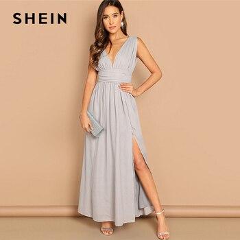 8d0dd8daf5b8 Fannic algodón Lino Plaid verano vestido diseño coreano una pieza corte  abierto vendaje Delgado ...