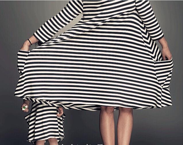 Nowy 2015 dla dzieci i mama sukienka, sukienka dziewczyny, Rodzina wygląd, kobiety piżamy dla dzieci, odzież dla dzieci, stripe, Rodzinny Wyposażony, rodzina odzież 5