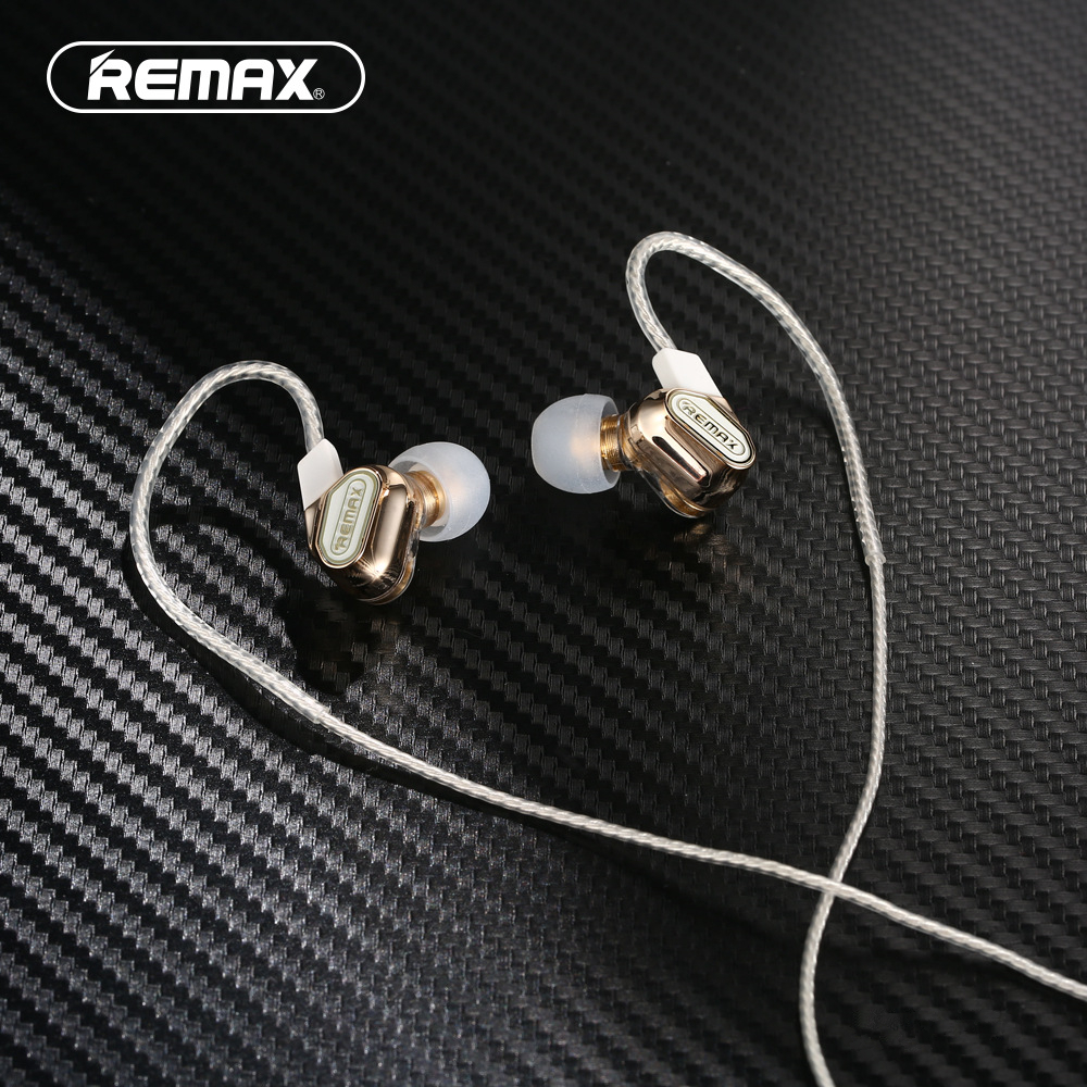 New arrvial Remax Wired Earphone with Microphone Voice Control Stereo Sound Music For iphone RM-580 remax rm 610d base driven high performance stereo earphone with microphone and in line control rm 610d