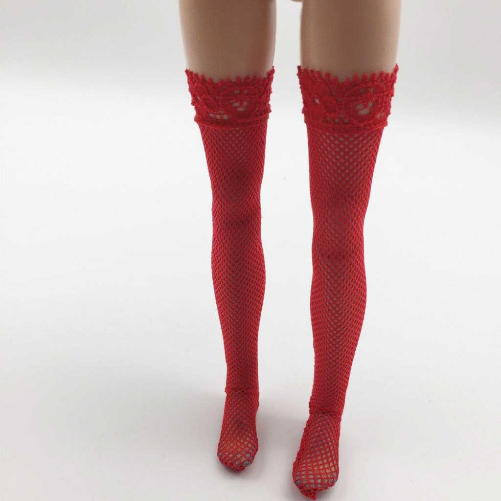 1/6 odzież damska Accs koronkowe pończochy dla 12 ''Phicen TBLeague figurka zabawka