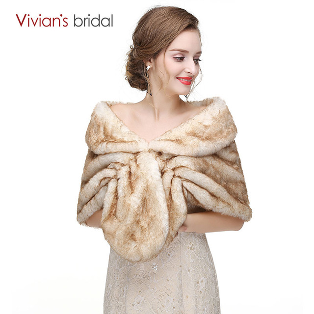 2018 Bridal Wraps Winter Wedding Coats In Stock High Quality Jacket ...