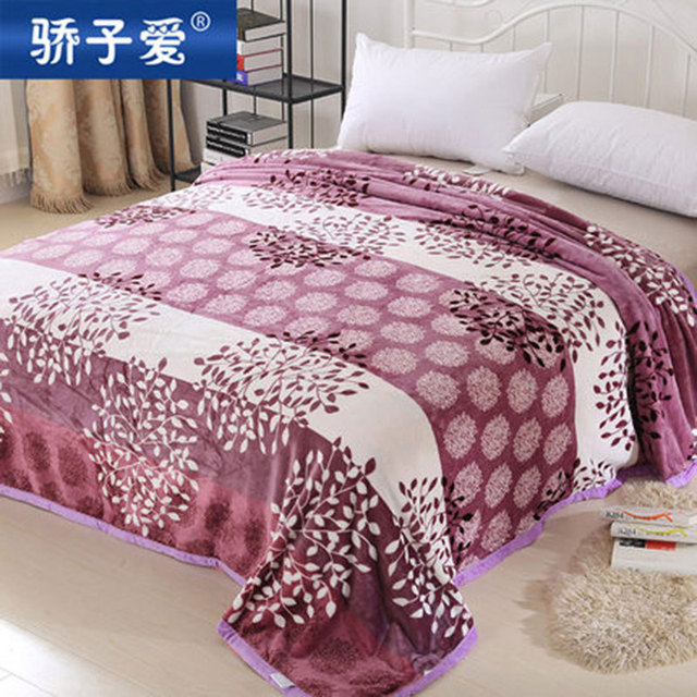 Winter Thermal Flanel Blanket Thickening Coral Fleece Thick Blankets Hot  Flannel Bed Sheets Bedding Set 150