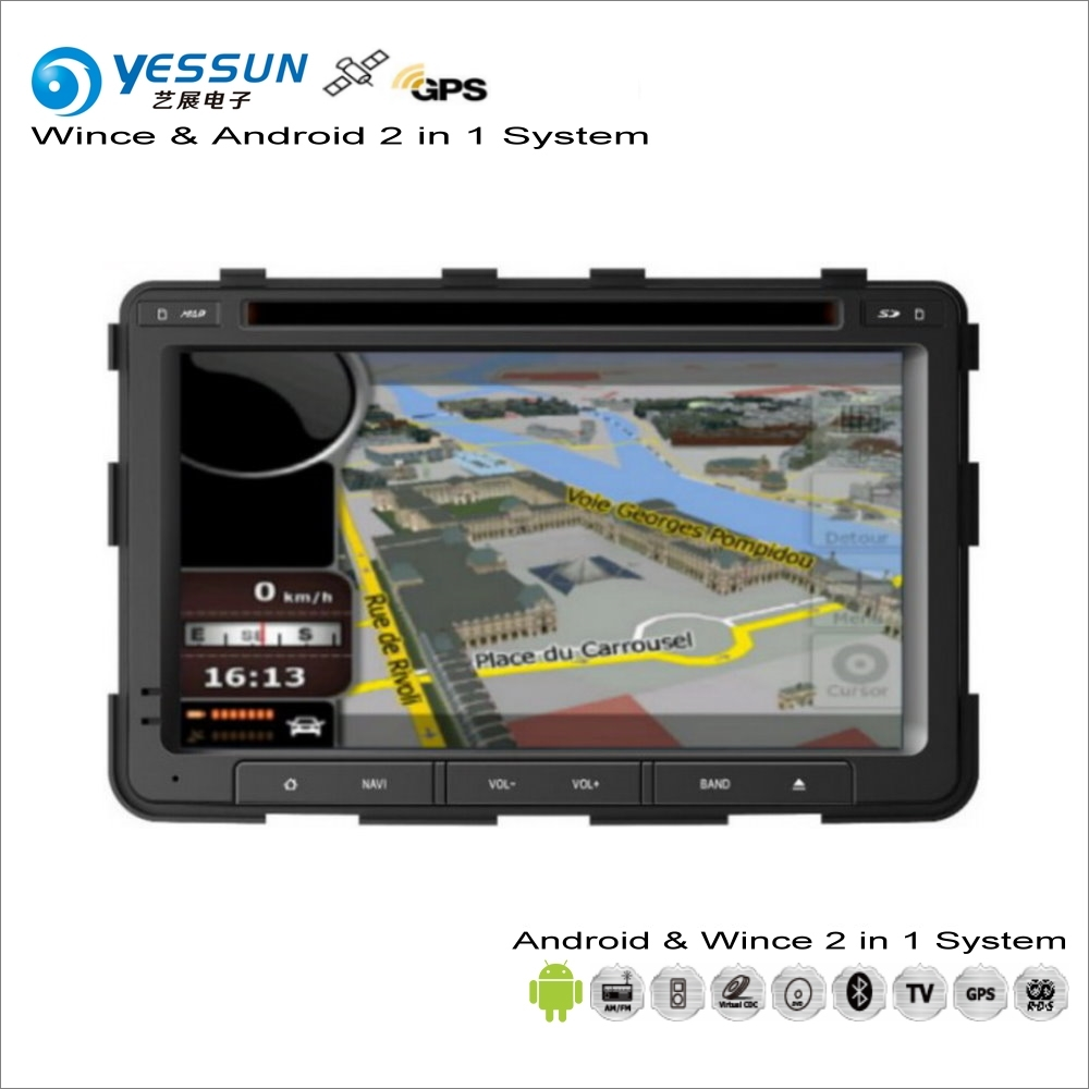 YESSUN For SsangYong Rexton 2006~2017 - Car Android Radio CD DVD Player GPS Navi Map Navigation Audio Video Stereo S160 System