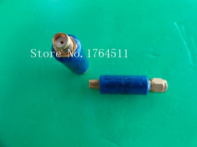 [BELLA] MINI SAT-10 DC-1.5GHz 10dB 2W SMA Coaxial Fixed Attenuator  --5PCS/LOT