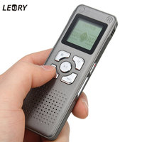 New 8GB Digital Voice Recorder Dictaphone Telephone Sound Rechargeable MP3 Player LED Screen Audio Voice Recorder