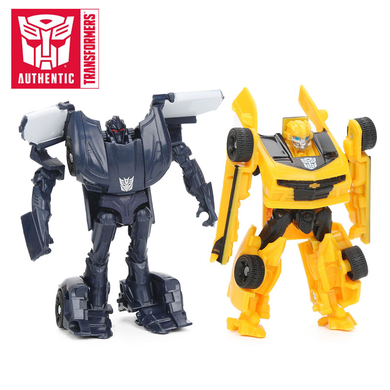 Transformers Toys The Last Knight Legion Class Optimus Prime Bumblebee Grimlock Barricade Figure Collection Model Dolls fidget its антистрессовая игрушка кубик transformers bumblebee