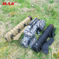 New 3 Colors Tactical Nylon Arrow Quiver with 1/2/3 Molle System Bag for Recurve/Compound bow Archery Hunting Shooting