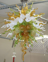 Free Shipping Modern Art Centerpiece High Ceiling Hanging LED Chandelier Part