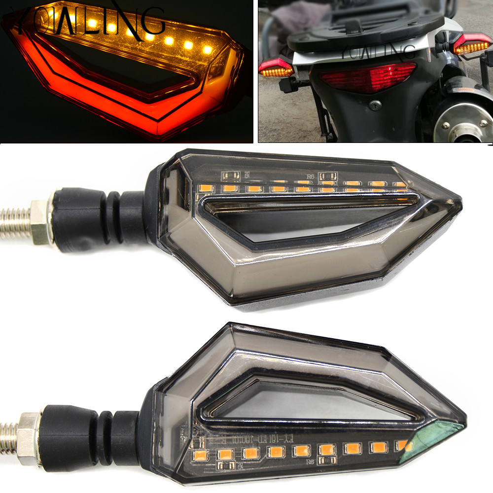 Motorcycle LED Turn Signal Lights Amber Lamp Signals Indicators Blinkers FOR HONDA CBR1000RR CBR600RR CBR600 F4i CBR600 CBR900RR