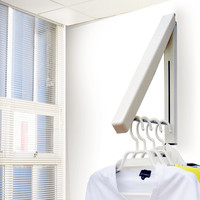 Free Shipping Living Room Furniture Coat Rack Home Furniture Multifunctional Fashion Wall Hangers Folding Drying Rack