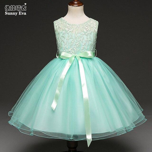 Sunny eva girls party girl dress ballroom wedding dresses short ...