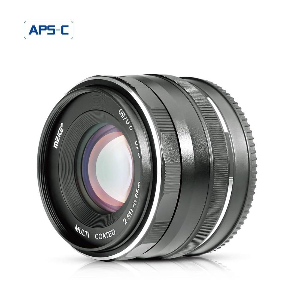 MEKE MK 50mm f 2.0 Large Aperture Manual Focus lens APS-C For Fujifilm X-Pro2/X-E3/X-T1/X-T2/X-T10/X-T20/X-A2/X-E2/X-E2s cameras конверт детский altabebe altabebe конверт в коляску зимний lambskin footmuff черный