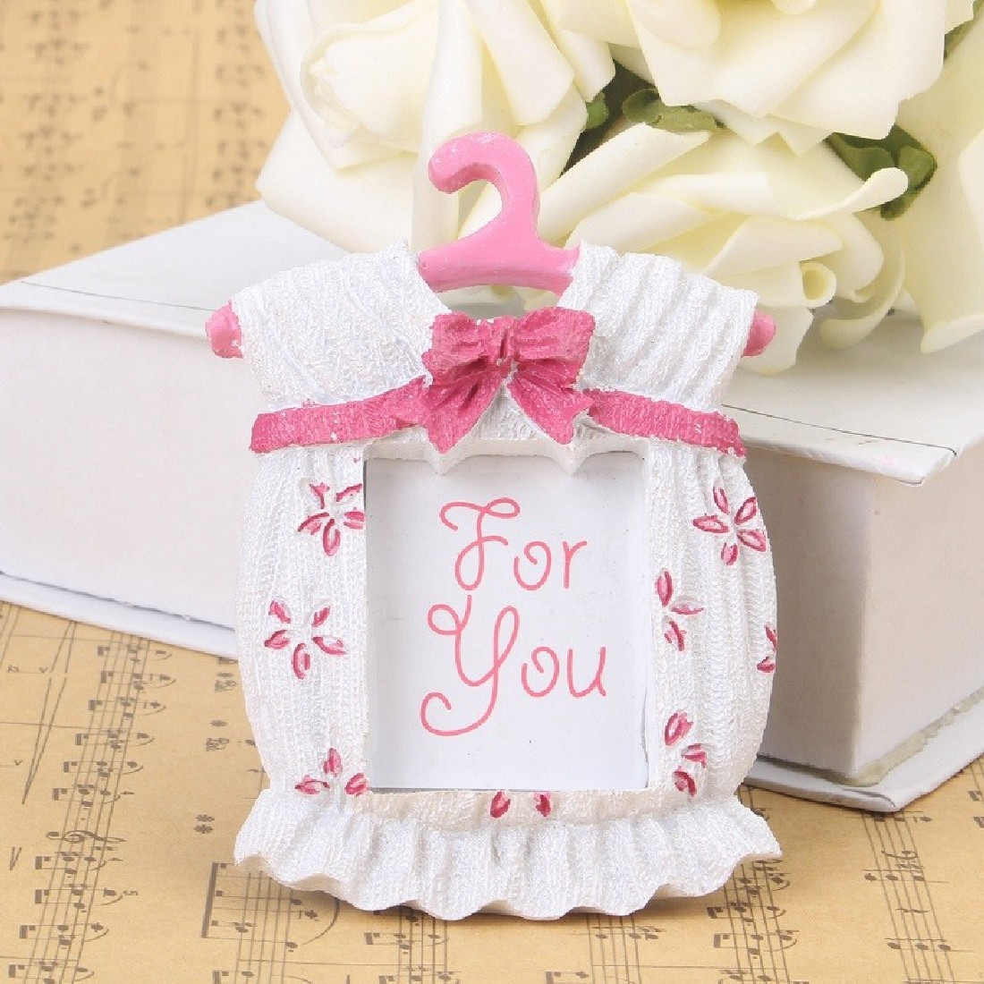 new beautiful household cute pink baby clothes picture frame baby birthday giftschina