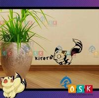 Japanese Cartoon FANS Inuyasha Kirara Vinyl Wall Sticker Decal Decor Home Decorative Decoration