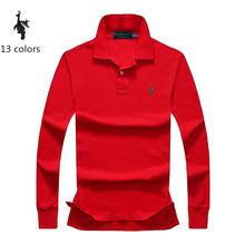 Digital Peacock Polo Shirt Mens embroidered Breathable Camisa Masculina Soft Cotton long sleeve solid Polo Men недорого