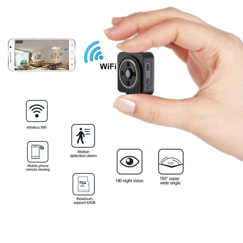 BOBLOV Mini caméra Wifi sans fil H5 720 P infrarouge Micro DV caméra Vision nocturne flexible caméra capteur de mouvement caméra secrète
