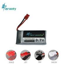 3.7v 1400mAh lipo Bateria para SYMA RC Zangão X5 X5S X5C X5SC X5SH X5SW M18 H5P HQ898 HQ859B H11D H11C T64 T04 T05 F28 F29 T56 T57