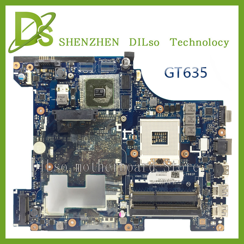 Y480 LA-8001P laptop motherboard for lenovo y480 QIWY3 LA-8001P with graphics card GT635 motherboard 100% tested 45 days warranty laptop motherboard for asus k53b la 7322p with 4 video chips non integrated graphics card 100