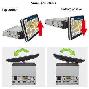 Image 5 - وحدة معالجة مركزية عالمية 1DIN بشاشة لمس قابلة للدوران مقاس 9 بوصات تعمل بنظام أندرويد 8.1 مع معالج رباعي النواة وذاكرة رام 2 جيجابايت وذاكرة قراءة فقط سعة 32 جيجابايت ونظام تحديد المواقع وخاصية الواي فاي