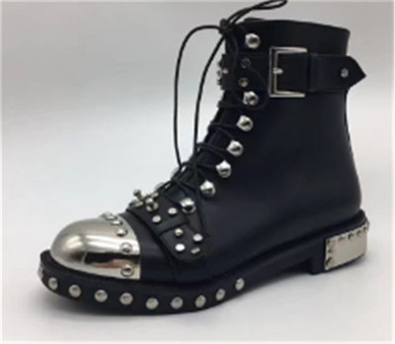 Punk-Style-Colorful-Printed-Color-Motorcycle-Boots-Studded-Buckle-Cross-tied-Metal-Decor-Rivet-Ankle-Boots.jpg_640x640