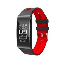 Купить с кэшбэком Ordro S11 Smart Watch Fitness tracker Bluetooth Sports Bracelet Heart Rate Monitor 0.96 inch OLED waterproof for sport