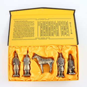 China Ancient Terracotta Warriors and Horses  Room Office Home Furnishing Gifts Decoration