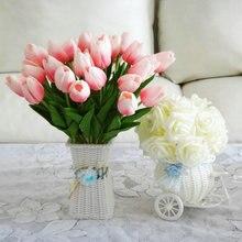 Umělé tulipány pro zkrášlení domova, 30 ks