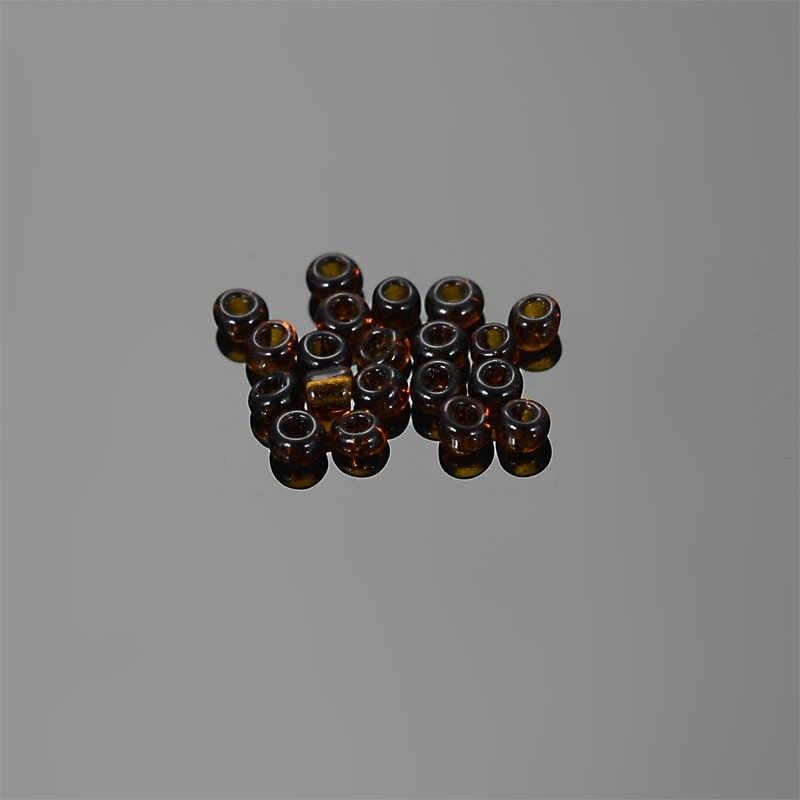 30 г прозрачный цвет Круглый Стекло Seedbeads 1,5 мм для Diy Стекло семян бисера работы ювелирных изделий