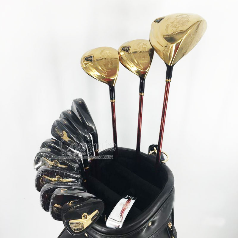 New Golf clubs set Maruman Majesty Prestigio 9 Golf Complete Set 9 5 or 10 5 loft Graphite Golf shaft Free shipping womens golf clubs maruman rz complete clubs set driver fairway wood irons graphite golf shaft and cover no ball packs
