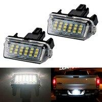 2pcs Car 18 LED 6000k Car LED Bulb License Plate Light Parking Lamp Car External Lights