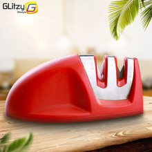 Knife Sharpener Colorful Kitchen Whetstone Sharpening Stone Tools Household Gadgets Diamond And Ceramic Stages Anti-slip Base