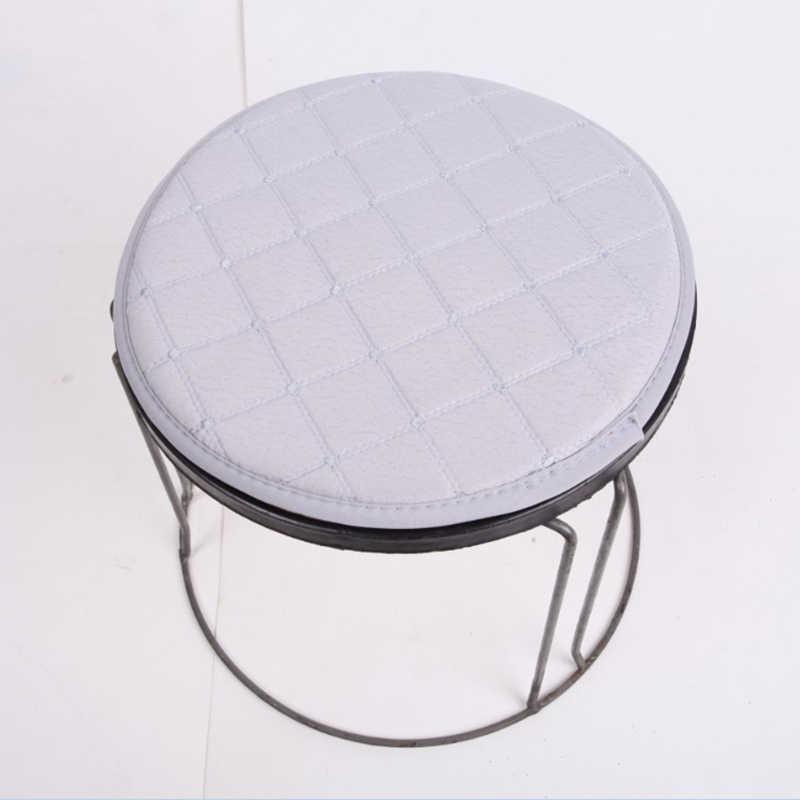 Protetor de Tecido de Algodão macio Almofada Redonda Bar Fezes Dentista Cabeleireiro Cadeira Almofadas de Assento Anti-slip Almofada Cadeira Estudante