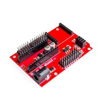 لوح تمديد مستشعر لاسلكي Nano 328P IO لمقبس XBEE و NRF24L01 لـ arduino in