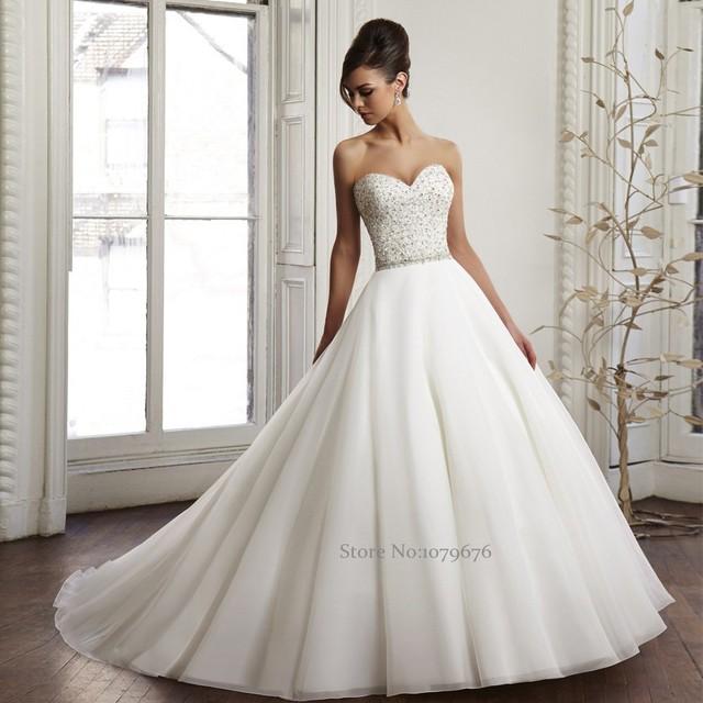 Vestidos de novia sin tirantes
