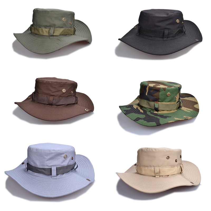 62b9f01260bbd Fishing Cap 1 X Outdoor hat Hiking Sun Hat Men s Outdoor Foldable Beach Cap-in  Sun Hats from Apparel Accessories on Aliexpress.com