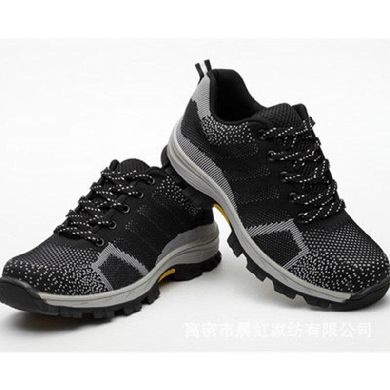 35-46 Unisex Sneakers2018 di Campeggio Esterna Trekking Caccia Scarpe Da Trekking Pesca Non-slip Anti-smashing Tattiche di Protezione scarpe
