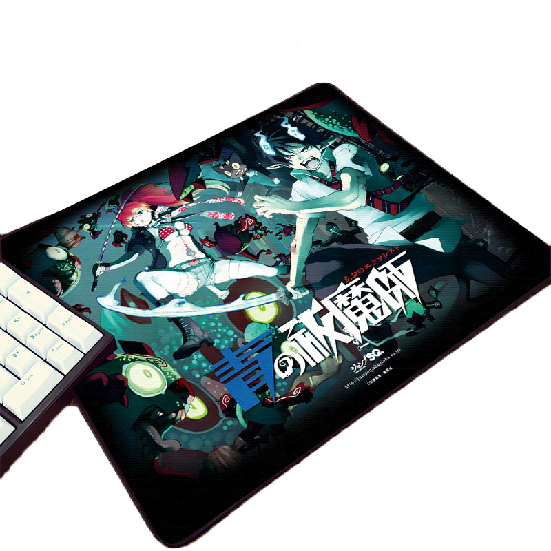 Mairuige Cool Boy Anime Comic Pattern Mousepad Okumura Rin Ao No Blue Exorcist Manga Creative Pc 220x180x2MM Small  Mouse Pad