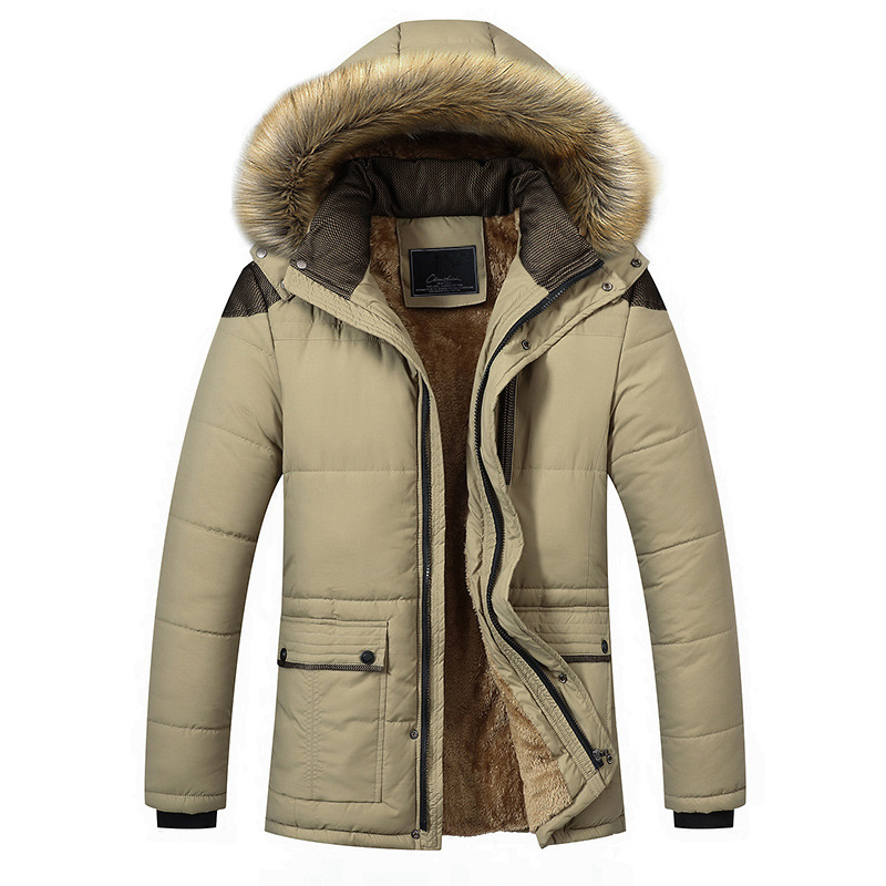 2017 Winter Jacket Men Design Brand Parka Men Clothing Hoody Coat Male Thick Warm Collar Hooded Parka Jackets Plus Size M-5XL free shipping winter parkas men jacket new 2017 thick warm loose brand original male plus size m 5xl coats 80hfx