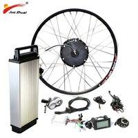 48V 500W Electric Bike Conversion Kit with Battery 48V 12AH Hub Motor Wheel S900 LCD Ebike E bike Conversion Kit Free Shipping