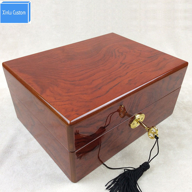 Best for watch gift box classical mens&women luxury piano lacquer wood watch boxes with KEY storage display case drop shipping new arrival free shipping 20 grids watch display box with drawer red high light lacquer wooden jerwelry boxes storage gift boxes
