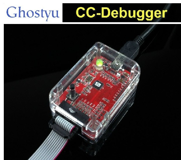 цена на Freeshipping bluetooth zigbee emulator CC-Debugger 2540 2541 2530 protocol analysis