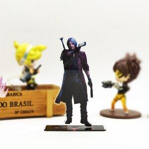 Image 1 - Amour merci diable Cry 5 Dante DMC acrylique support figure modèle support de plaque gâteau topper anime jeu