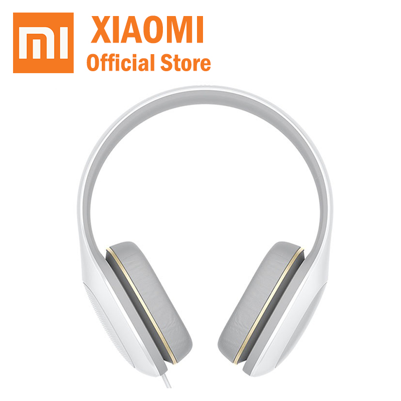 2018 Xiaomi MI Headphone Easy Version 3 5mm Sterero Music HiFi Mi Headset Comfort Earphone For