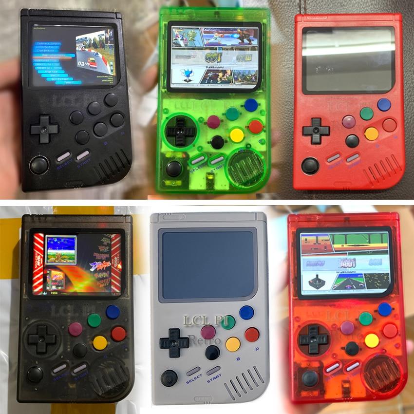 Portátil retro mini handheld game console 4.3 Polegada 64bit 3000 jogos de vídeo clássico família game console presente retro arcade - 5