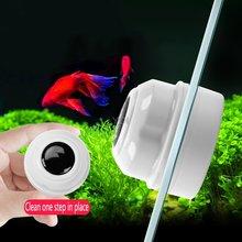 Магнитная щетка для очистки аквариума Стекло мини окна 8 мм
